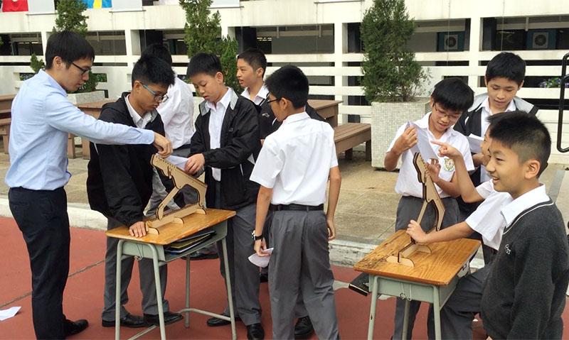 中一STEM課程:滑翔機原理